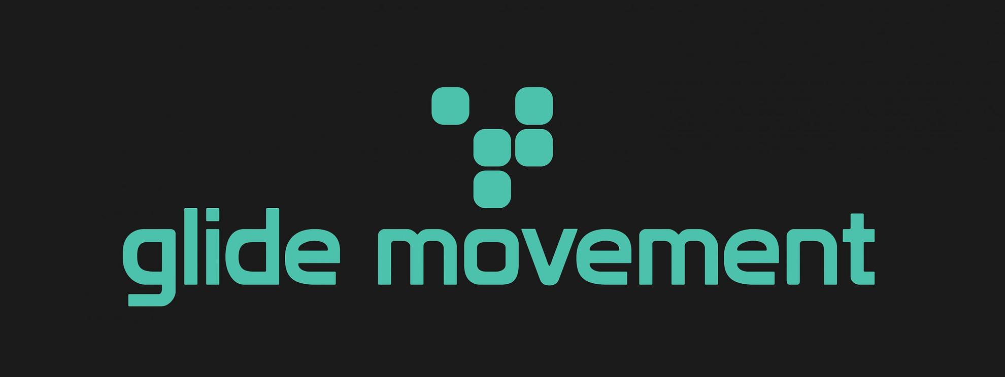 logo glide movement